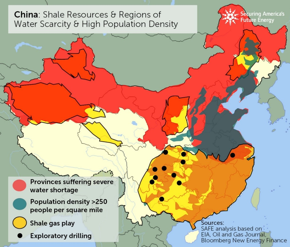 The Fuse A Challenging Outlook For International Shale The Fuse - Us shale oil reserves map