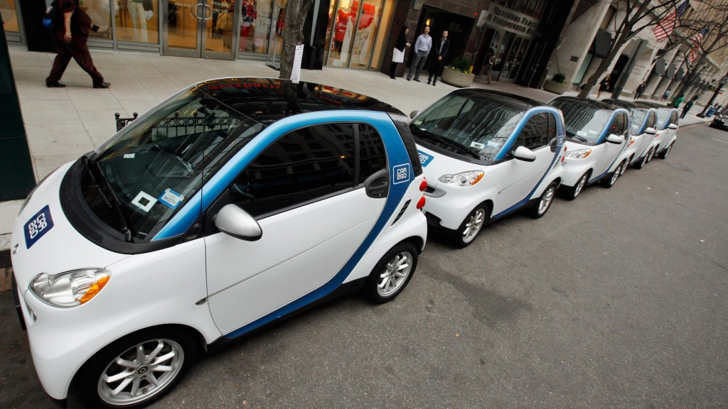 The Fuse Carsharing Displaces Private Vehicle Ownership Says